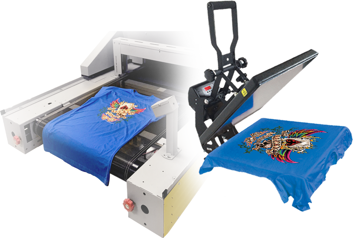 t shirt printing cure ink